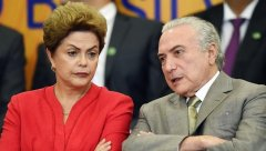 Dilma Rousseff et Michel Temer